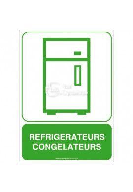 Panneau Réfrigérateurs, Congélateurs