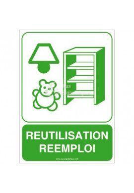 Panneau Réutilisation, Réemploi
