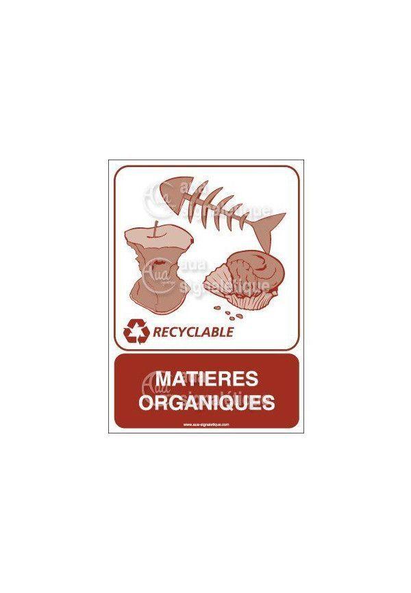Panneau Matières organiques - V