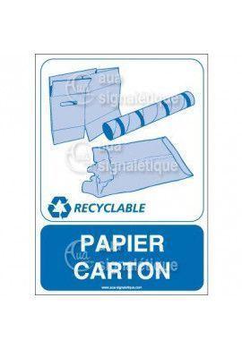 Panneau Papier carton - V