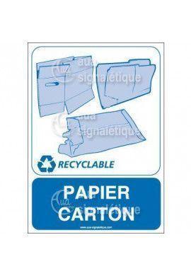 Panneau Papier Cartons 01 - V