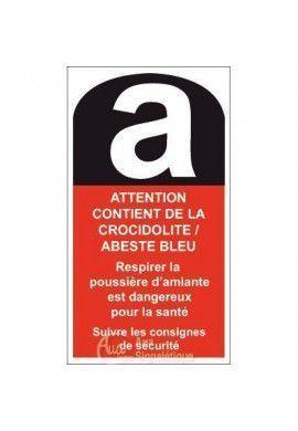 Crocidolite/Abeste bleu