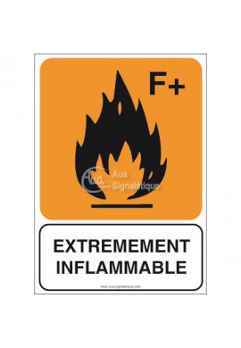 Panneau Extrêmement inflammable