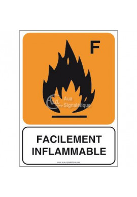 Panneau Facilement inflammable