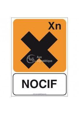 Panneau Nocif