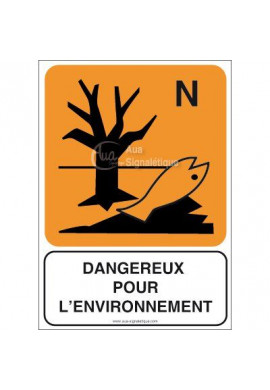 Panneau Dangereux pour l'Environnement