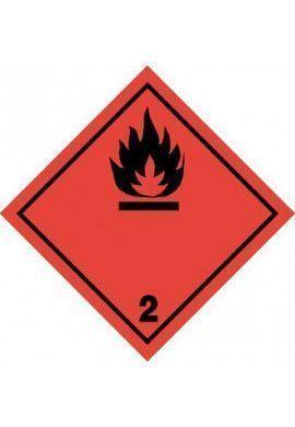 Etiquette N°2-1 Gaz inflammables