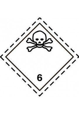 Etiquette N°6-1 Toxiques