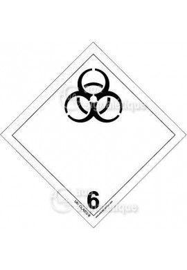 Etiquette N°6 - Infectieuse