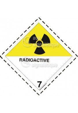 Etiquette N°7 Radioactive