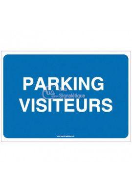 Panneau Parking Visiteurs 02
