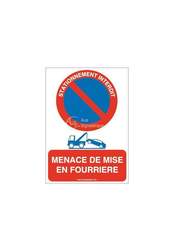 Mise En Fourrière : panneau menace de mise en fourri re sur ~ Gottalentnigeria.com Avis de Voitures