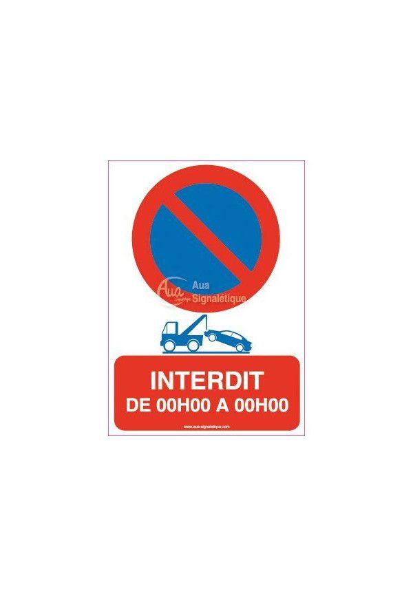 panneau interdit parking priv good panneau rond sens interdit proprit prive rserv aux rsidents. Black Bedroom Furniture Sets. Home Design Ideas