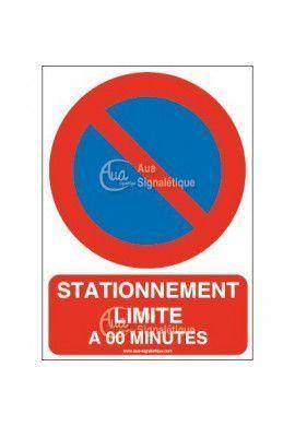 Panneau Stationnement Limité