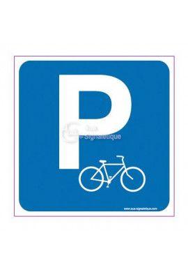 Panneau Parking vélos