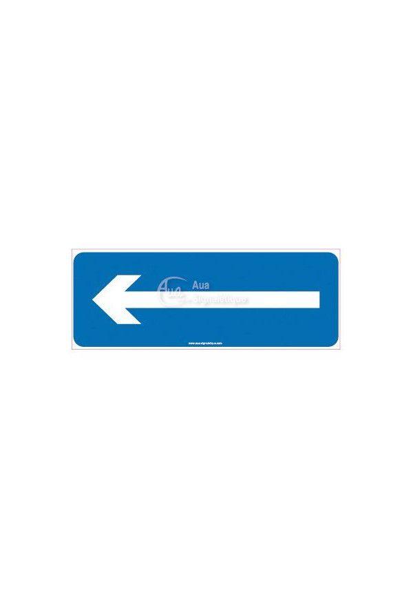 Panneau Parking flèche vers la gauche
