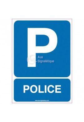 Panneau Parking Police