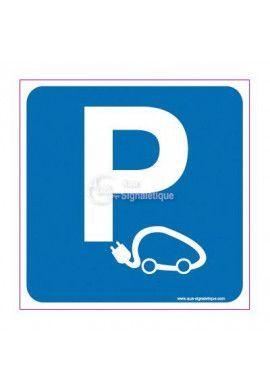 Panneau Parking Voitures Electriques