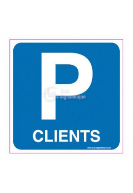 Panneau Parking Clients
