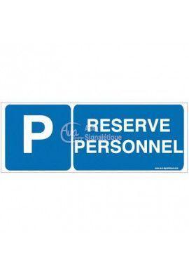 Panneau Parking réservé personnel-B