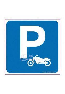 Panneau Parking Moto