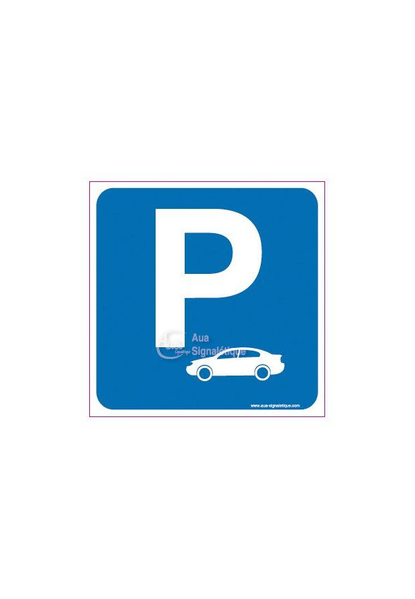 Panneau Parking Voitures