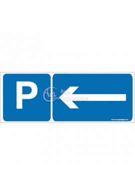 Panneau Parking Direction Gauche-B