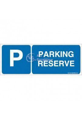 Panneau Parking Réservé-B