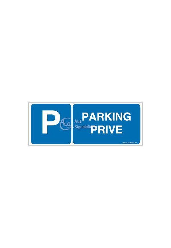 Panneau Parking Privé-B