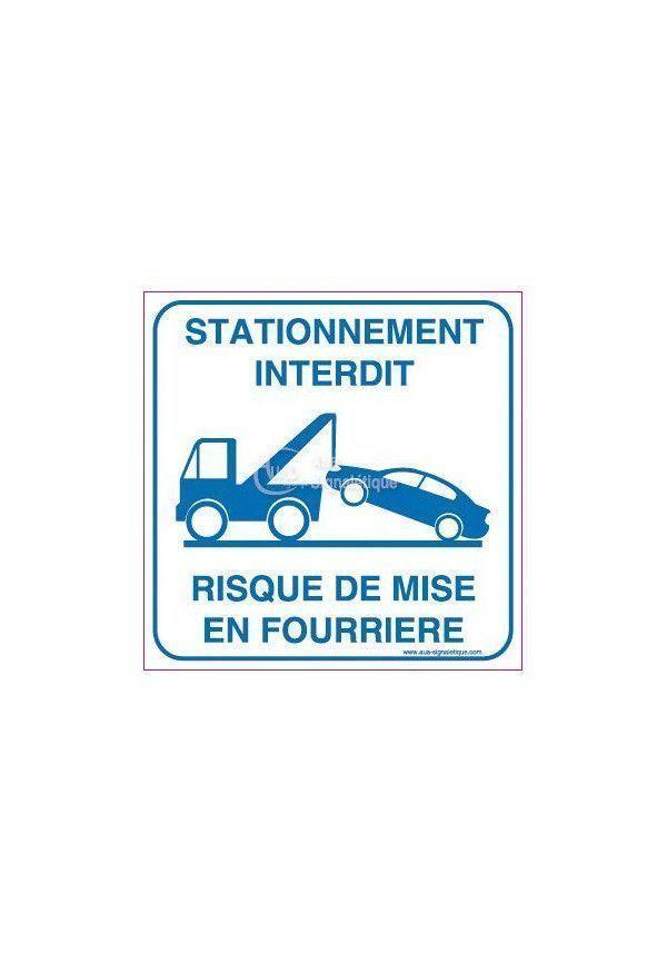 Panneau Fourrière
