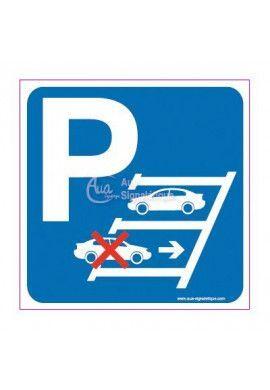 Panneau Parking Marche Arrière Droite