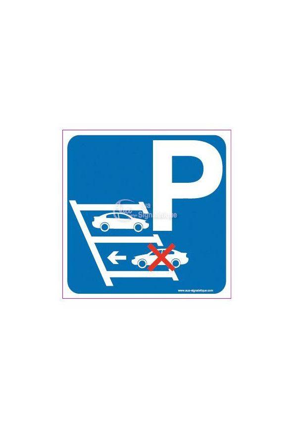 Panneau Parking Marche Arrière Gauche