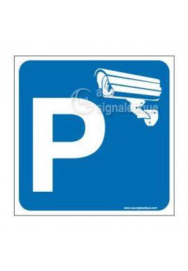Panneau Parking sous Surveillance