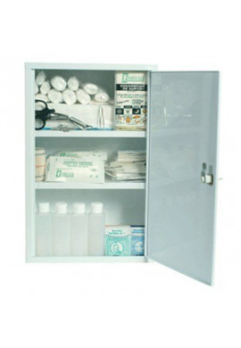 Armoire à pharmacie vide pour 10 personnes