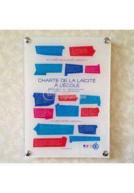 Affiche Charte de la laïcité à l'École