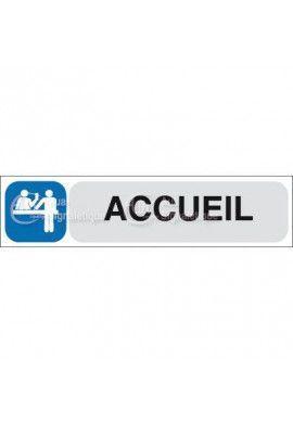 Plaque de porte Accueil
