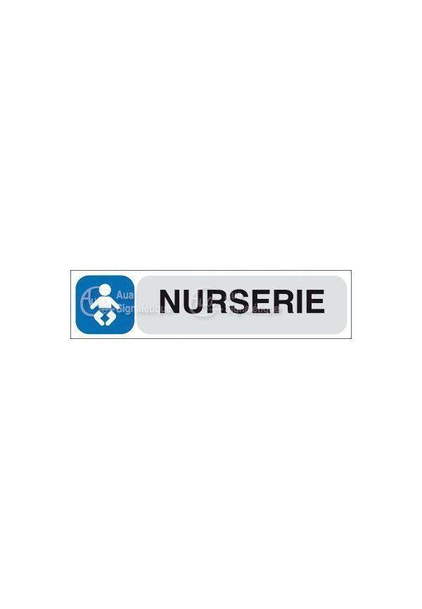 Plaque de porte Nurserie