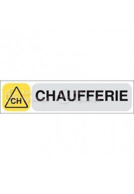 Plaque de porte Chaufferie