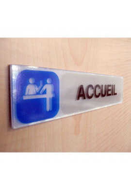 Plaque de porte Issue de Secours