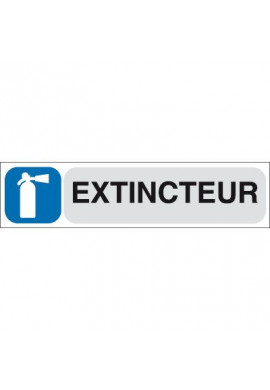 Plaque de porte Extincteur