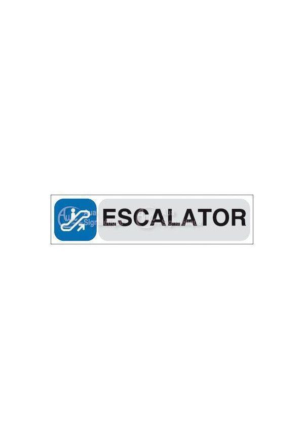 Plaque de porte Escalator 03