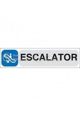 Plaque de porte Escalator 04