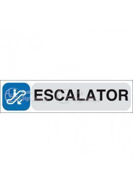 Plaque de porte Escalator 02