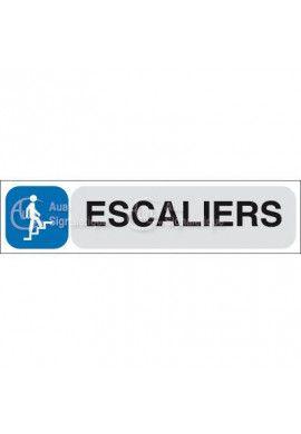 Plaque de porte Escaliers Montant