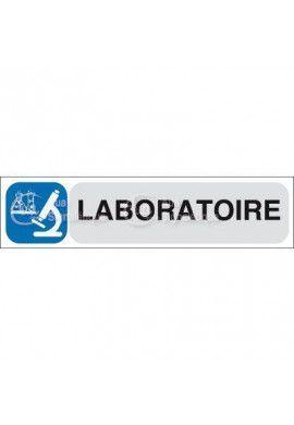 Plaque de porte Laboratoire