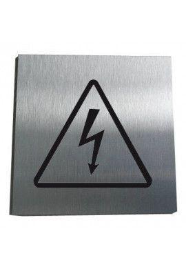 Plaque Alu Brossé Armoire Electrique
