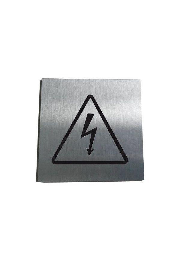 Plaques De Porte Aluminium Brosse Armoire Electrique