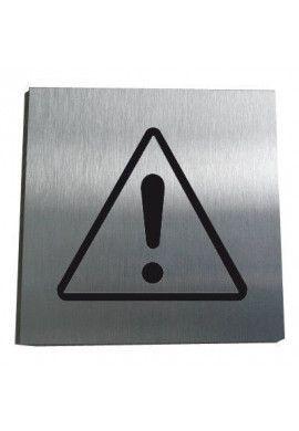 Plaque Alu Brossé Danger