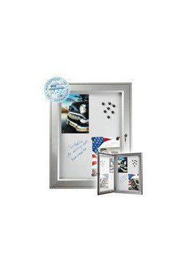 Vitrine D'affichage Imperméable Fond Magnétique-4xA4(653x483mm)