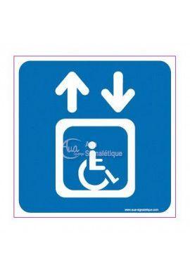 Panneau Ascenseur Handicapés